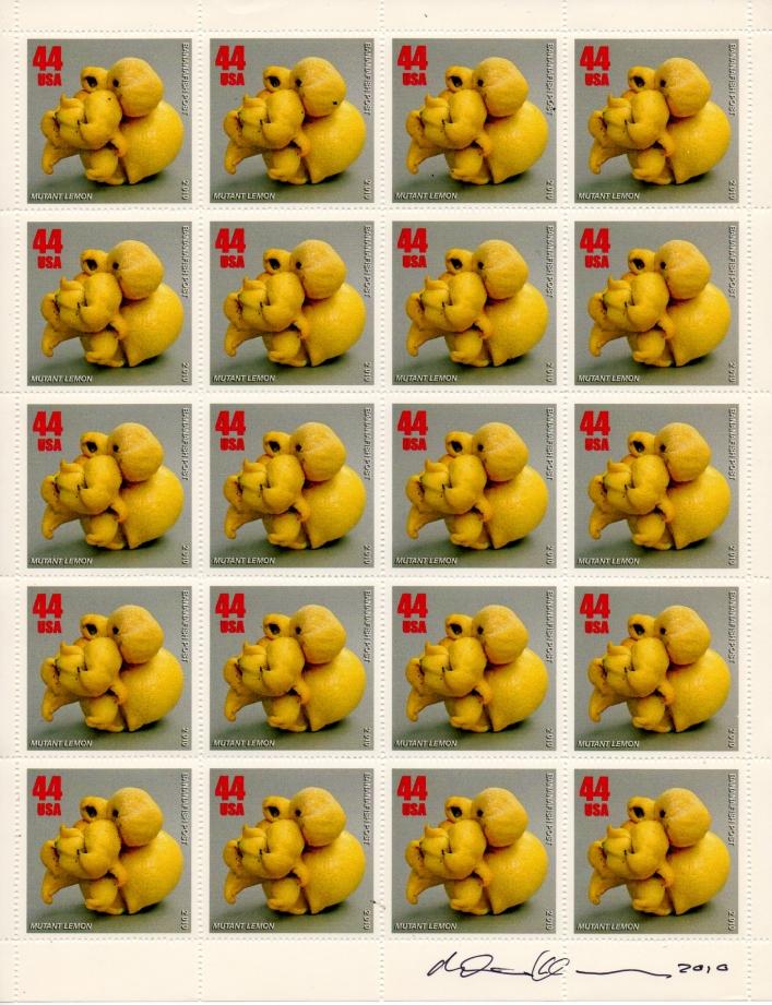 AEN.2010.020 | Artistamps | Mike Dickau | USA